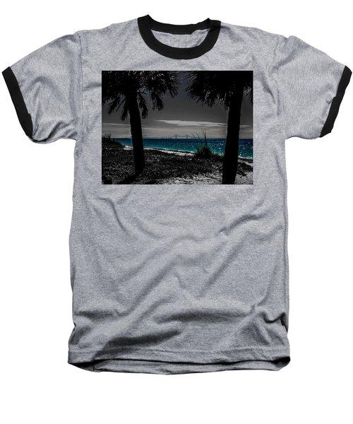 Tampa Bay Blue Baseball T-Shirt