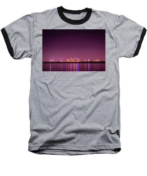 Tampa Bay Skyline Baseball T-Shirt