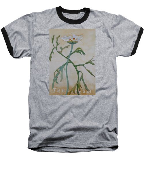 Tanacetum Baseball T-Shirt by Ruth Kamenev