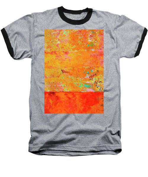 Baseball T-Shirt featuring the photograph Tangerine Dream by Skip Hunt