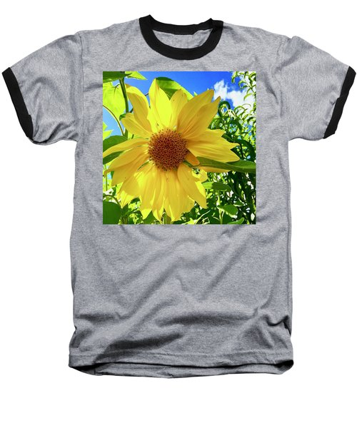 Tangled Sunflower Baseball T-Shirt