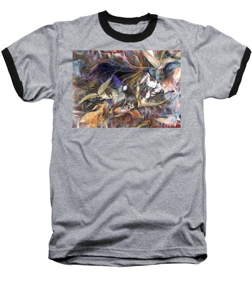 Tango Birds Baseball T-Shirt