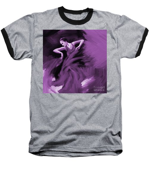 Tango Dancer 01 Baseball T-Shirt by Gull G