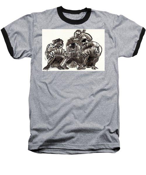 Tango Musicians Baseball T-Shirt
