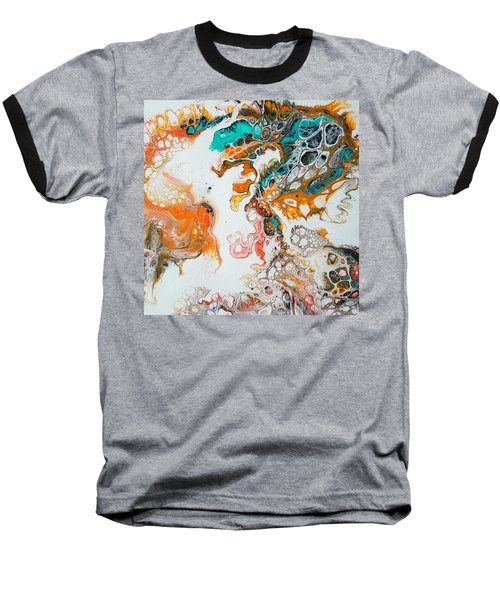 Tango With Turquoise Baseball T-Shirt
