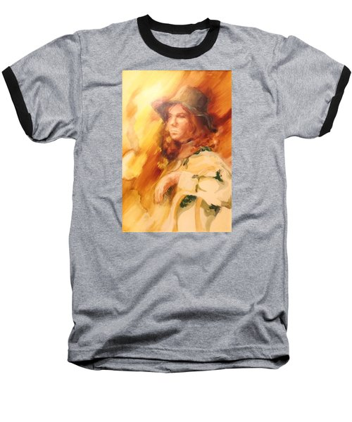 Tangy Baseball T-Shirt by Denise Fulmer