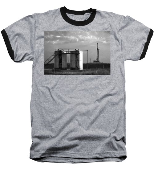 Tank Battery Baseball T-Shirt