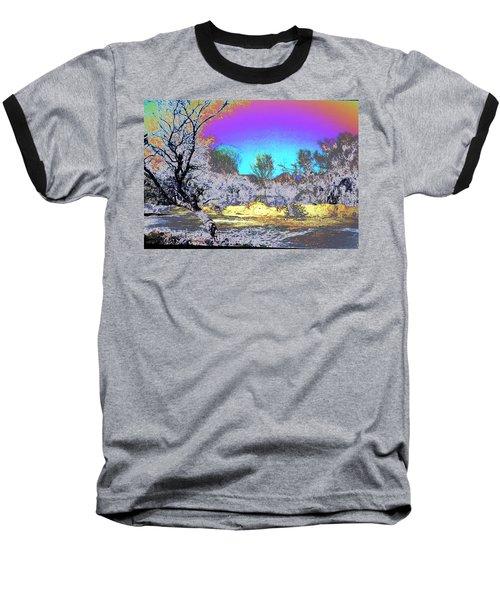 Tanque Verde Wash Abstract Baseball T-Shirt