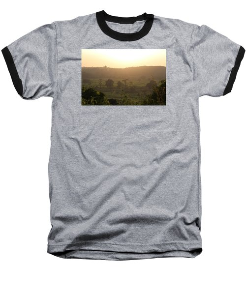 Tansa Valley, Vajreshwari From The Devi Temple Complex Baseball T-Shirt by Jennifer Mazzucco