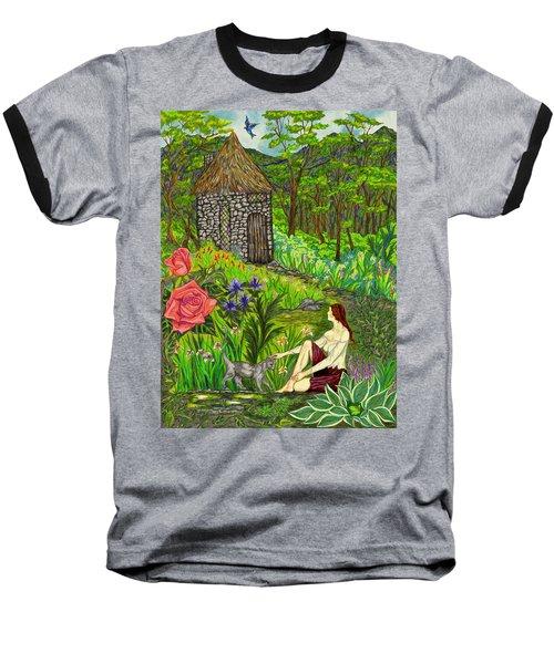 Tansel's Garden Baseball T-Shirt