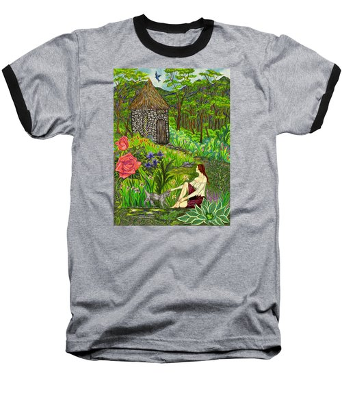 Tansel's Garden Baseball T-Shirt
