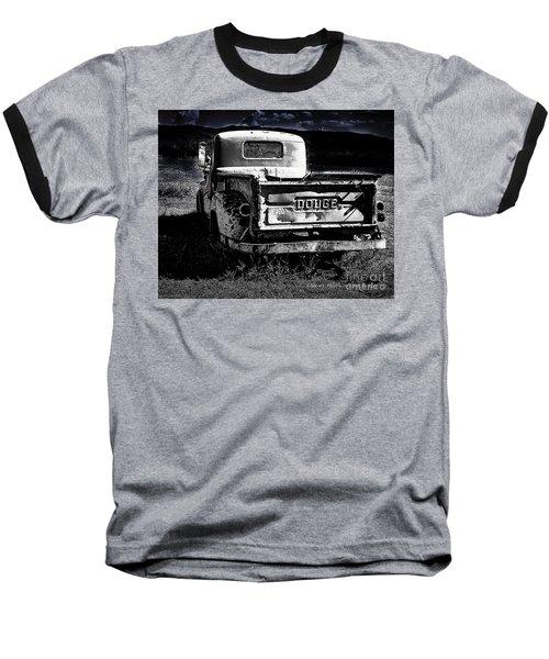 Taos Dodge B-w Baseball T-Shirt