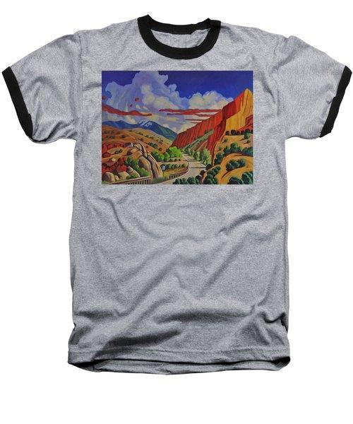 Taos Gorge Journey Baseball T-Shirt