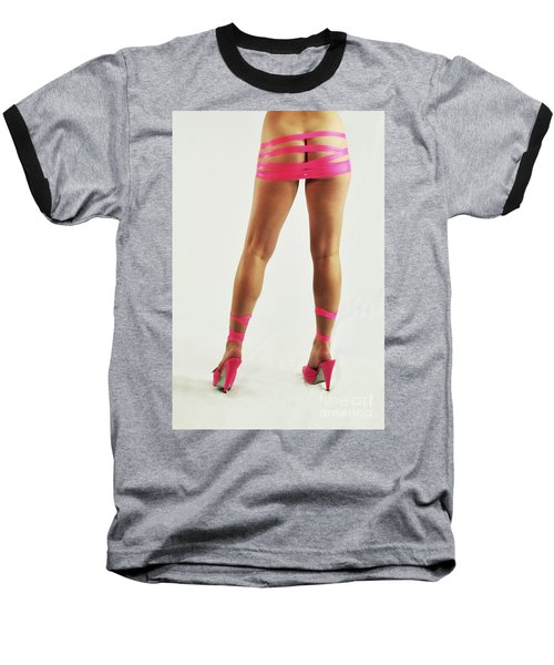 Tape And Heels Baseball T-Shirt