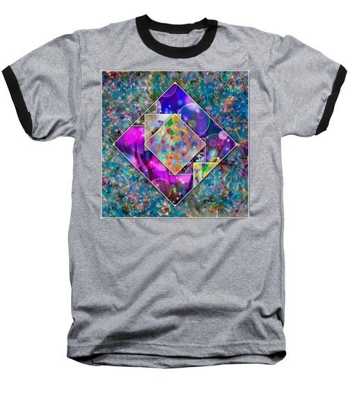 tapestry Collage Baseball T-Shirt
