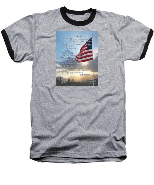 Taps Words Baseball T-Shirt