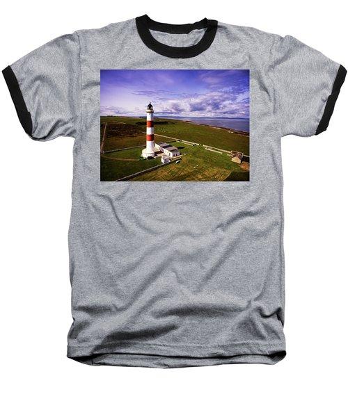 Tarbat Ness Lighthouse Baseball T-Shirt