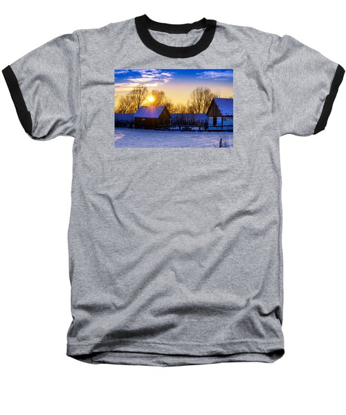 Tarchomin Sunset Baseball T-Shirt