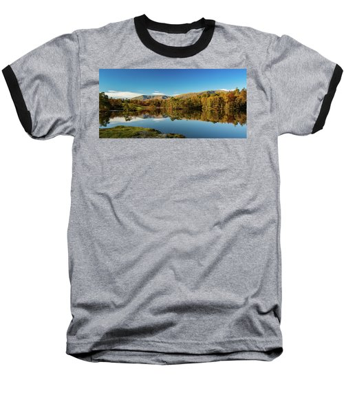 Baseball T-Shirt featuring the photograph Tarn Hows by Mike Taylor