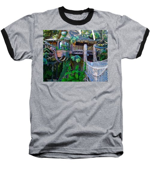 Tarzan Treehouse Baseball T-Shirt