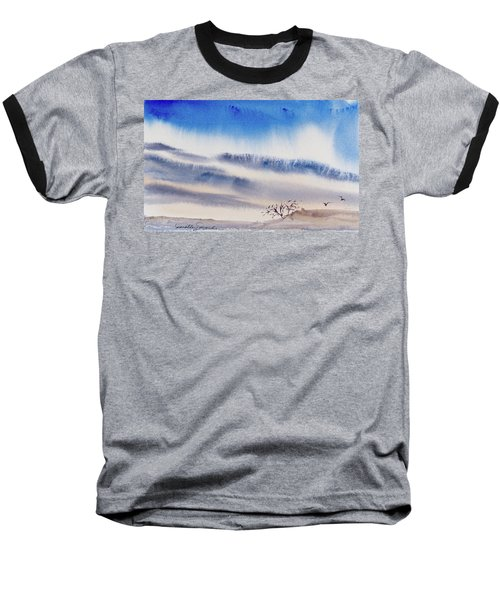 Tasmanian Skies Never Cease To Amaze And Delight. Baseball T-Shirt