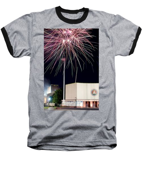 Taste Of Dallas 2015 Fireworks Baseball T-Shirt