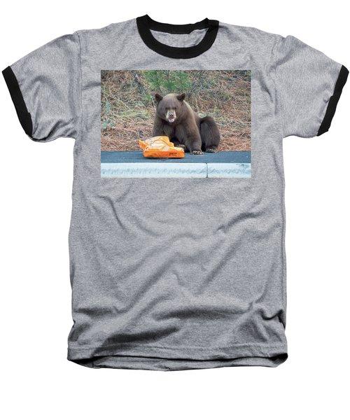 Taste Of The Wild Baseball T-Shirt by Scott Warner
