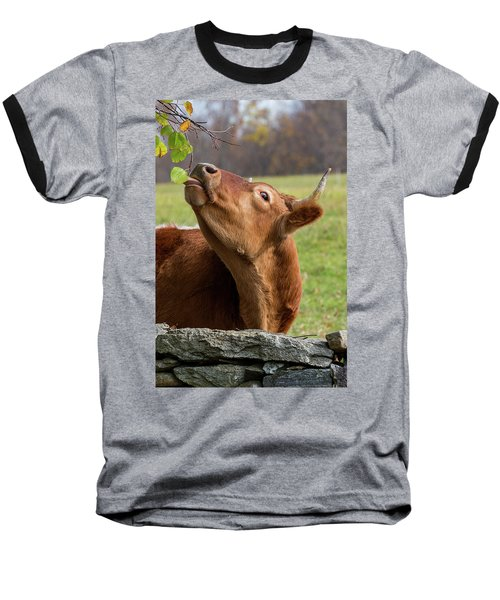 Baseball T-Shirt featuring the photograph Tasty by Bill Wakeley
