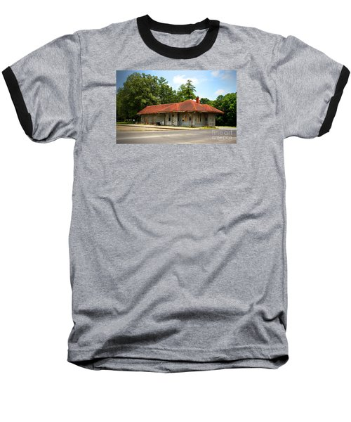 Tate, Ga, Rr Depot Baseball T-Shirt
