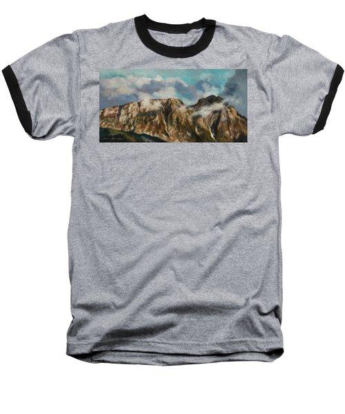 Tatry Mountains- Giewont Baseball T-Shirt