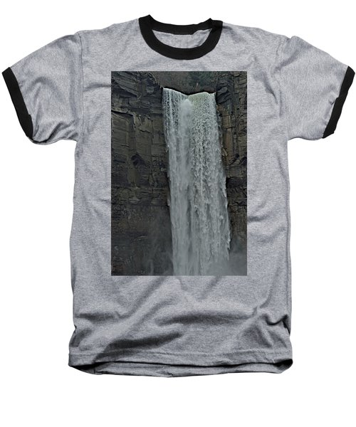 Taughannock Falls State Park Baseball T-Shirt by Joseph Yarbrough