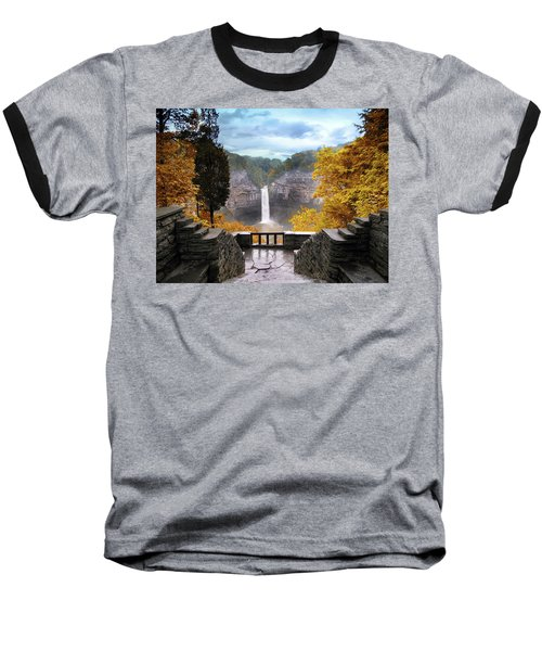 Taughannock In Autumn Baseball T-Shirt