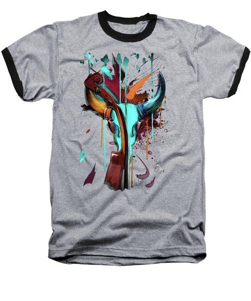 Taurus Baseball T-Shirt by Melanie D