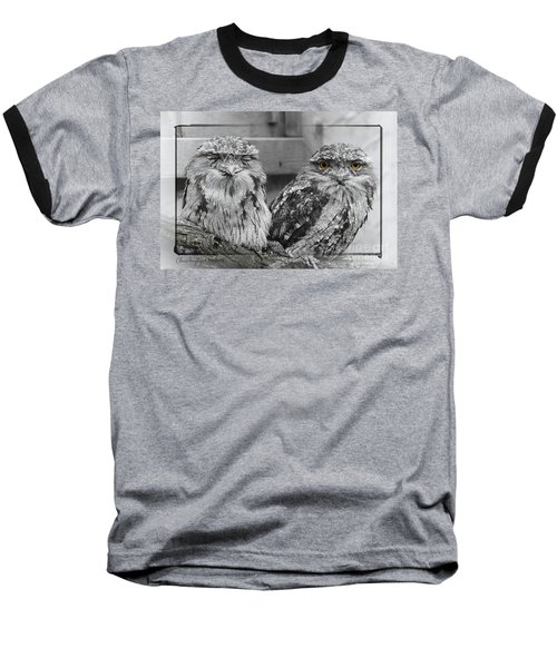 Tawney Frogmouths Baseball T-Shirt