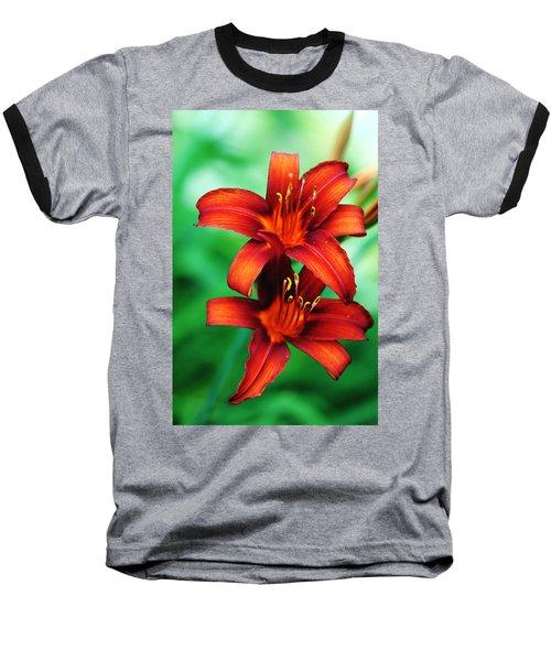 Tawny Beauty Baseball T-Shirt by Debbie Oppermann