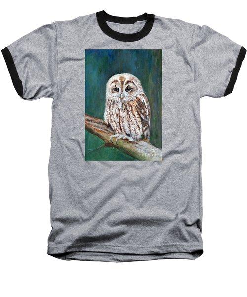 Tawny Owl Baseball T-Shirt