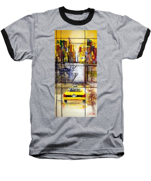 Taxi 7 Baseball T-Shirt