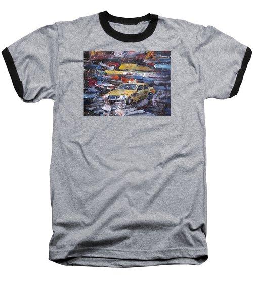 Taxi Baseball T-Shirt