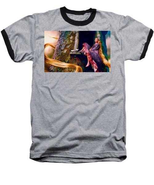 Taylor Swift As Rapunzel Baseball T-Shirt