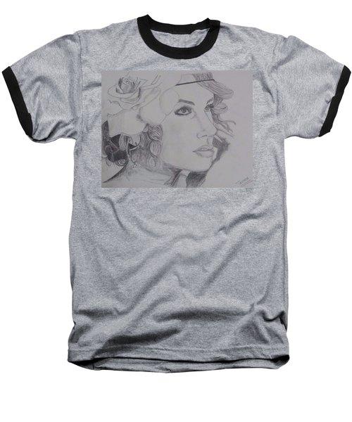 Taylor Swift Baseball T-Shirt by Tanmaya Chugh