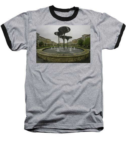 Tcu Campus Commons Baseball T-Shirt by Jonathan Davison