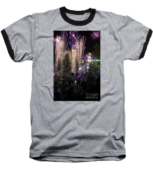 Tcu Christmas Tree Lighting Celebration Baseball T-Shirt