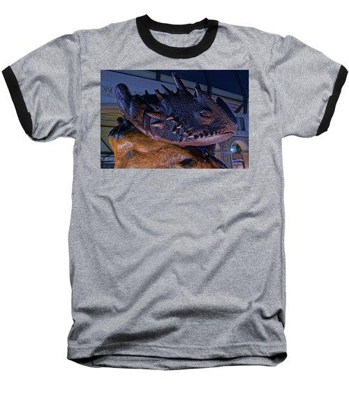 Baseball T-Shirt featuring the photograph Tcu Frog Mascot by Jonathan Davison