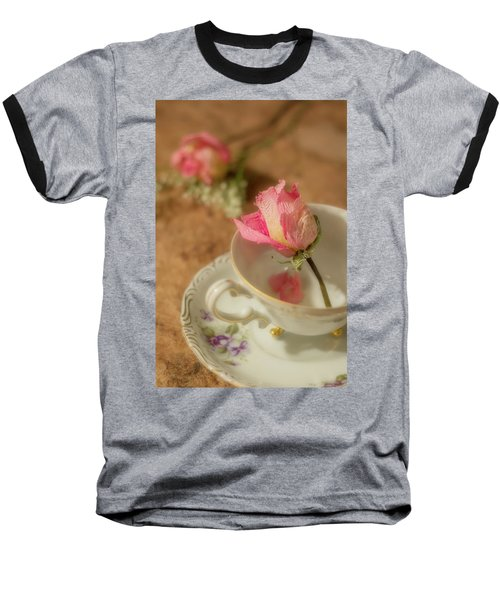 Tea And Roses Baseball T-Shirt
