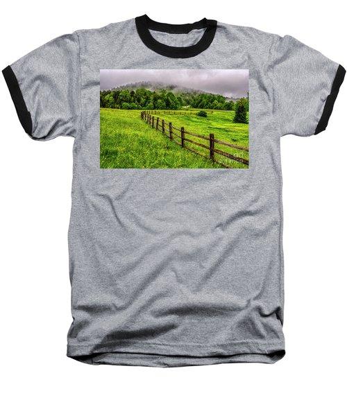 Tea Creek Meadow And Buttercups Baseball T-Shirt