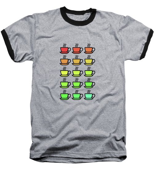 Tea Cups Baseball T-Shirt