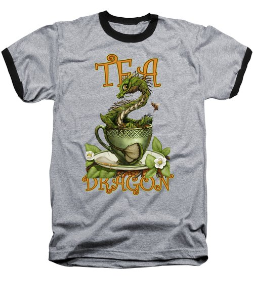 Tea Dragon Baseball T-Shirt