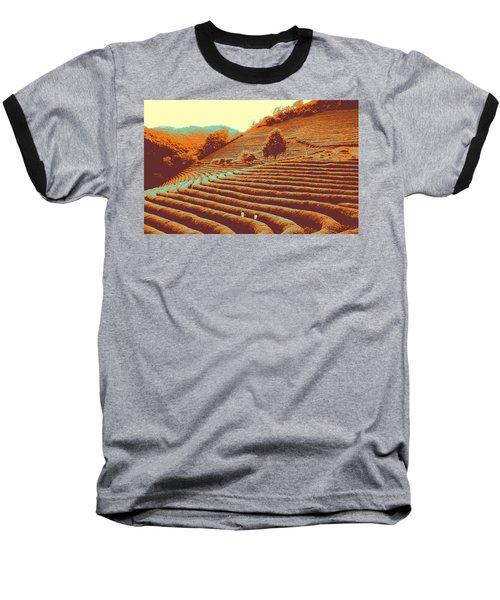 Tea Field Baseball T-Shirt