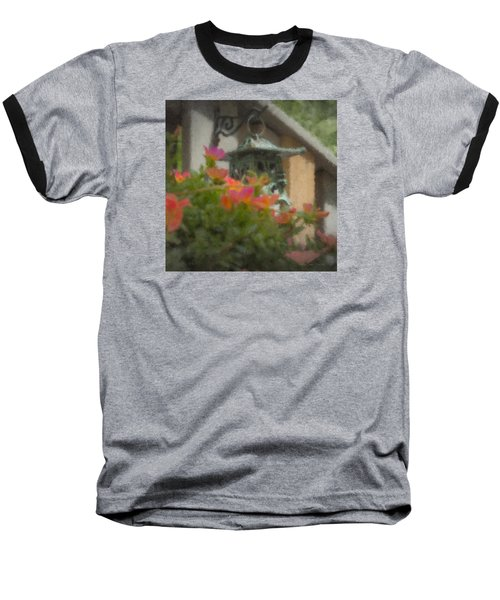 Tea Lantern And Portulaca Baseball T-Shirt