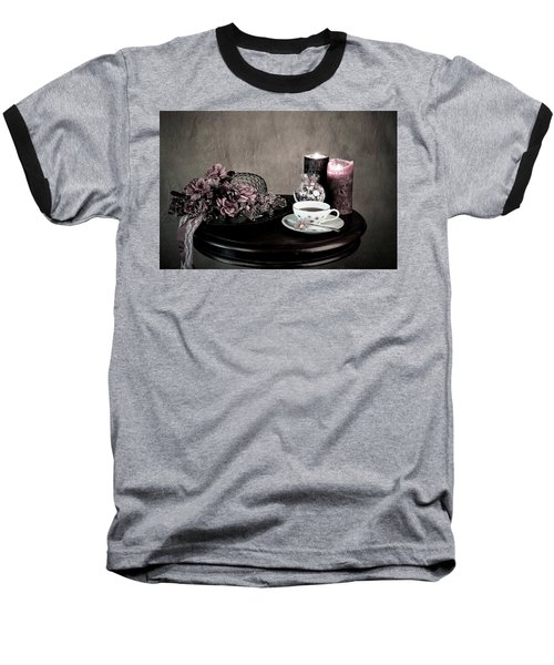 Baseball T-Shirt featuring the photograph Tea Party Time by Sherry Hallemeier